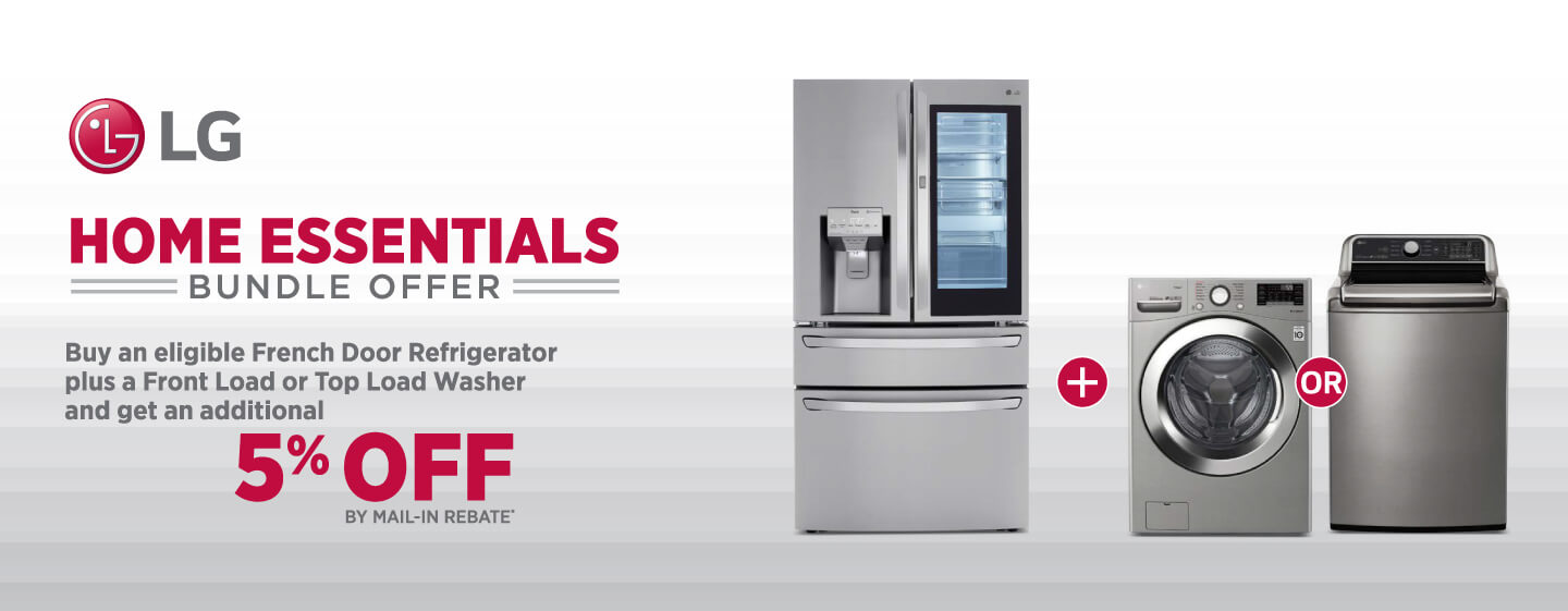 LG Home Essentials Bundle Offer